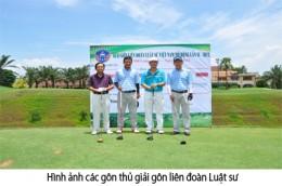 Tổ chức giải golf Liên Đoàn Luật Sư Mở Rộng tại sân Long Thành Golf Club 2016