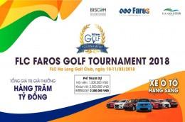 Giải Golf FLC FAROS GOLF TOURNAMENT 2018 tại  FLC HA LONG GOLF CLUB