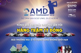 AMD GOLF TOURNAMENT 2018 - FLC SAM SON GOLF LINKS - 25,26,27/04/2018