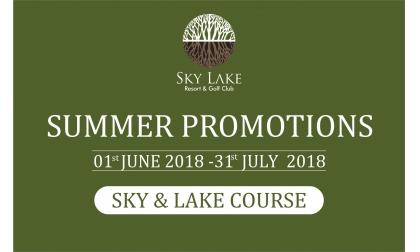 [PROMOTION - SKY LAKE] Cập nhật bảng giá khuyến mại tháng 6 và 7 sân Sky Lake