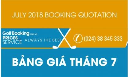 [INTERGOLF - Khuyến mại - PROMOTION]  BẢNG GIÁ ĐẶT GIỜ CHƠI GOLF THÁNG 7/2018 - July 2018 InterGolf Booking Quotation