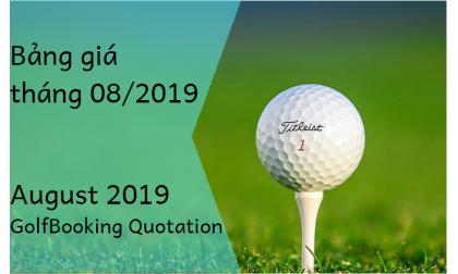 [INTERGOLF - Khuyến mại - PROMOTION] BẢNG GIÁ ĐẶT SÂN GOLF THÁNG 08/2019 - August 2019 InterGolf Booking Quotation