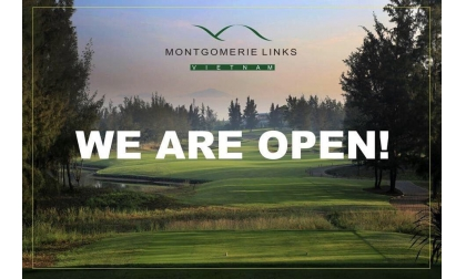 Sân golf  Montgomeries Link Mở cửa trở lại