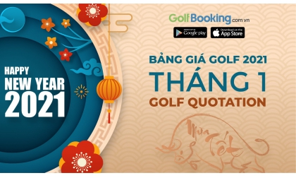 [HOT PROMOTION INTERGOLF 2021] - GOLF QUOTATION OF TET HOLIDAY