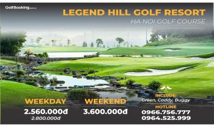 Legend Hill Golf Resort - Sân golf nằm trong lòng đất Thánh