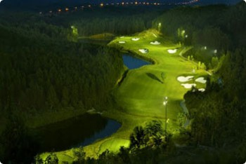 Golf courses in central Vietnam