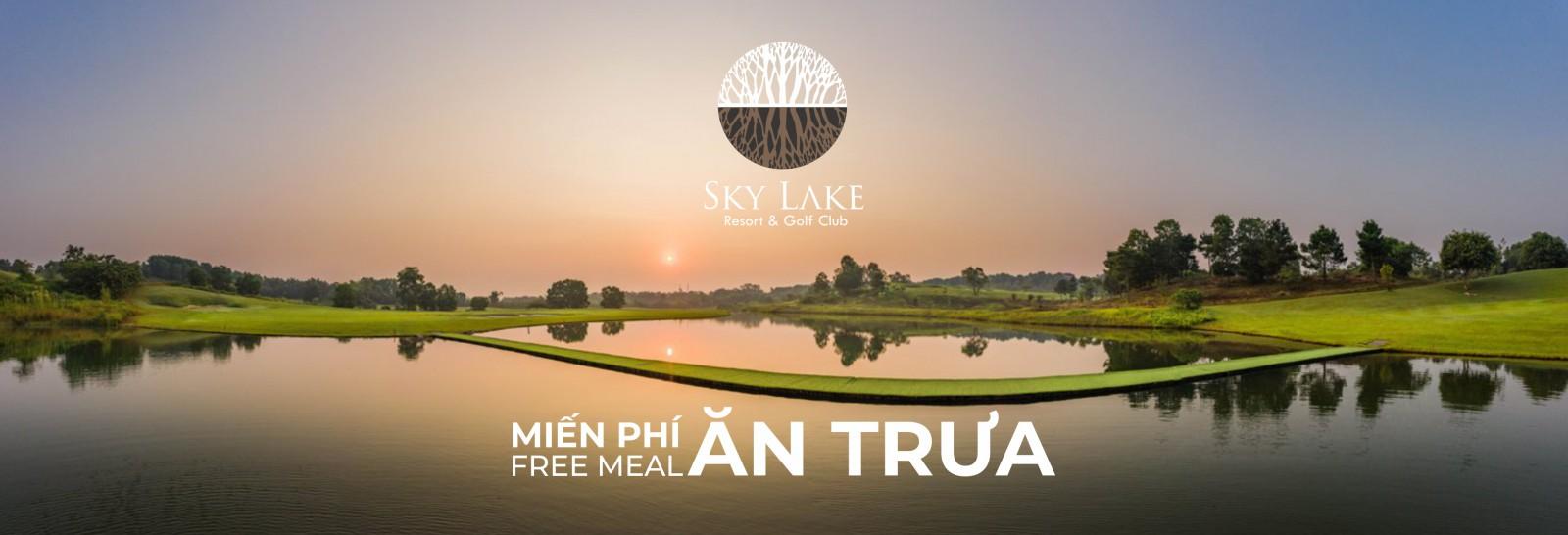 Khuyến Mại đặt sân golf Sky Lake